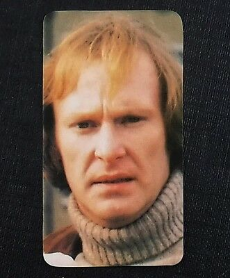 Dennis Waterman (Minder /The Sweeney) : 1979 TV All Stars Card by Golden Wonder