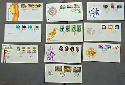 Singapore: Ten assorted First Day Covers (#11)