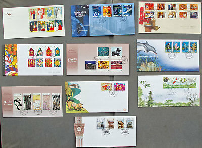 Singapore: Ten assorted First Day Covers (#16)