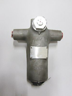 """5 Micron Hydraulic Filter Assembly 304L Stainless 1.32"""" Weld 4330008826829"""