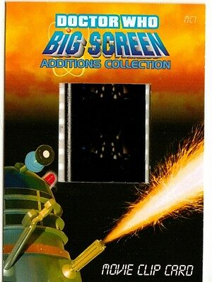 Dr Doctor Who Big Screen Additions Movie Clip Card /Q - The Black Dalek