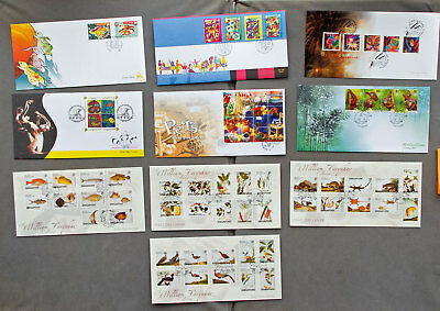 Singapore: Ten assorted First Day Covers (#25)
