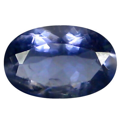 0.45 ct AAA Beautiful Oval Shape (7 x 4 mm) Iolite Natural Loose Gemstone