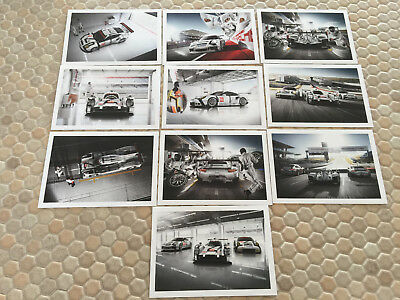 Porsche Official Mission Future Sportscar Post Card Set Of 10 New 2015