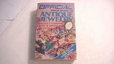 Official Price Guide To ANTIQUE JEWELRY  by Arthur Guy Kaplan   5th Edition