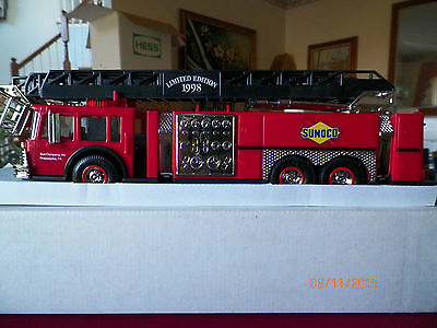 "1998 Sunoco ""Christmas in July"" Toy Firetruck Serial #009785 Philadelphia, PA"