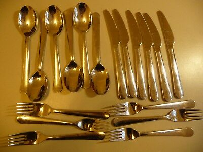 Cutlery set IKEA 18 pieces stainless steel .. G1b