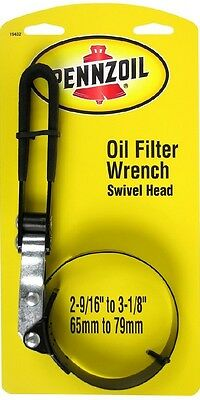Pennzoil Oil Filter Wrench Remover Tool Adjustable Swivel Head Change Car-Truck