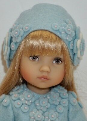 CHARMING BONEKA DOLL with BLUE HAND-CRAFTED OUTFIT - 10' tall - pls help ID. Thx