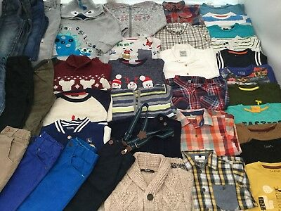 HUGE Boys Clothes Bundle 2-3 years Winter/Christmas Collection