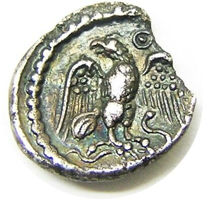 20 - 40 A.D. Celtic Britain Atrebates & Regini Silver Unit of Epaticcus