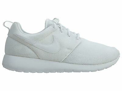 b0a0d35fef95 Nike Roshe One Big Kids 599729-102 White Mesh Athletic Shoes Youth Size 6.5