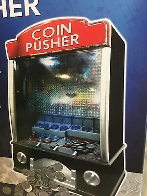 COIN PUSHER Traditional Arcade Game Fun for Home & Office Gift