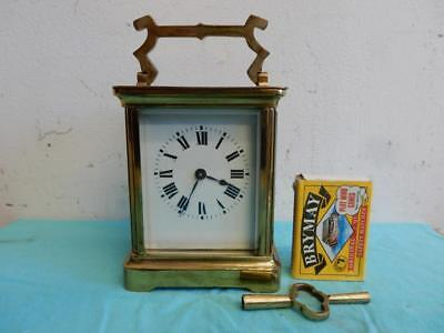 Really Old  Wind Up Carriage Clock