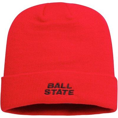 a3a8bfda89b0ae Ball State Cardinals Top of the World Primary Logo Simple Cuffed Knit Hat -
