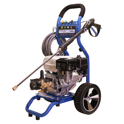 Pressure-Pro Dirt Laser 3400 PSI (Gas-Cold Water) Pressure Washer w/ Honda GX...