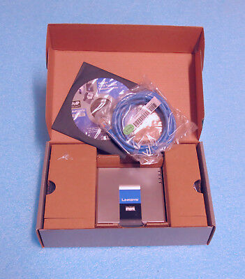 NEW Cisco Linksys SPA2102-R1 Small Business Pro SPA2102 Phone Adapter / Router