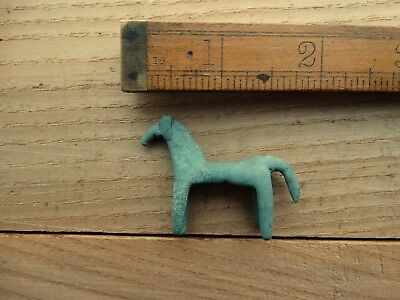 Ancient Celtic Bronze Horse Figurine 3-2 BC