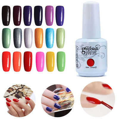 15ML Gelpolish Soak Off Gel Nail Polish Base Coat UV LED Manicure 001~068 HOT