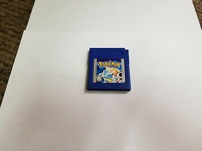Pokemon Blue Version (Nintendo Game Boy, 1998) gb AUTHENTIC