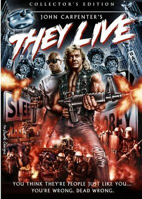 THEY LIVE New Sealed DVD Collector's Edition John Carpenter