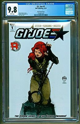 GI Joe #1 (2016 IDW Comics) Paul Pope Variant CGC 9.8