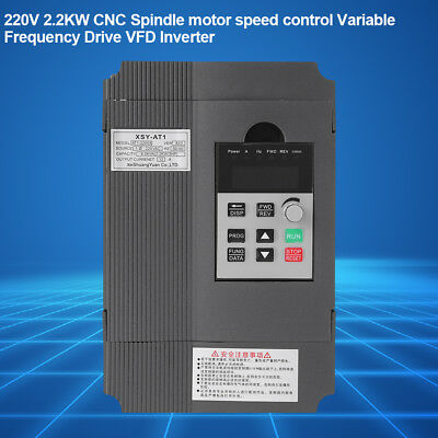 New 220V 2.2KW Spindle Motor Speed Control Variable Frequency Drive VFD Inverter