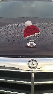 Knit Christmas cap hat for Mercedes