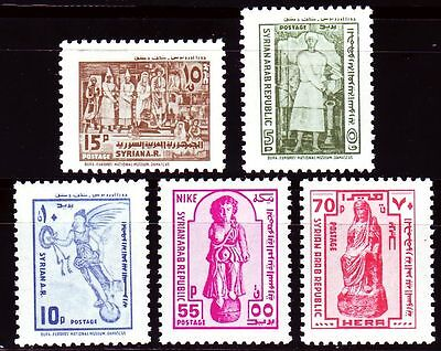 Syrien Syria 1978 ** Mi.1389/93 Freimarken definitives Archäologie Archaeology