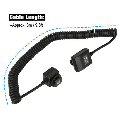 Meike MK-PT01 TTL Off-Camera Cord Flash Cable for Pentax Mirrorless Cameras EB