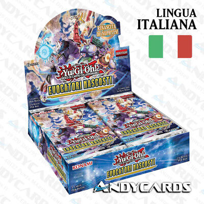 BOX ITALIANO ☻ Evocatori Nascosti / Hidden Summoners ☻ HISU YUGIOH