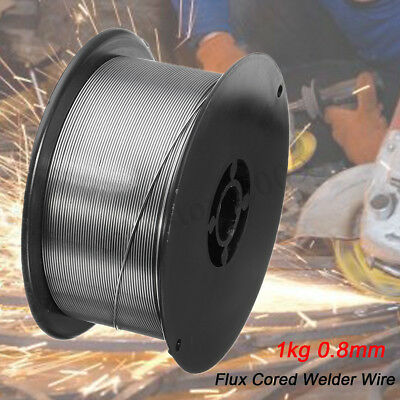 """0.8mm-0.03"""" 1kg Gasless Mig Cored Welding Wire Mild E71T-11 Flux All Positions"""