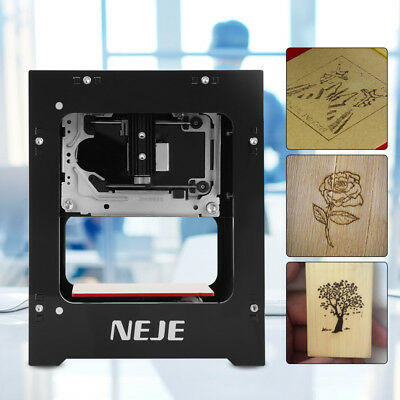 NEJE Laser Engraver Printer 1000mW 490x490 Pixel USB Engraving Machine