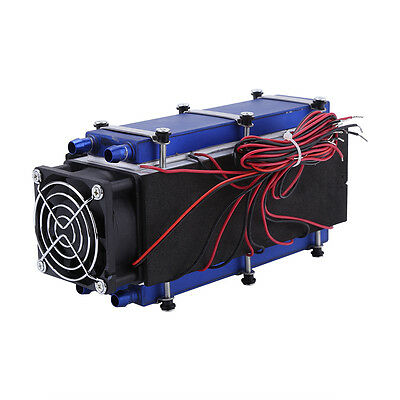12V 576W 8-Chip TEC1-12706 DIY Thermoelectric Peltier Cooler Air Cooling Devices