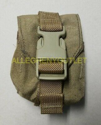 US Army Military Surplus MOLLE Coyote Tan Frag Hand Grenade Pouch MARSOC EXC