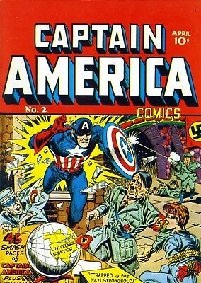 CAPTAIN AMERICA 1941(r) No. 2, Simon & Kirby, 68pgs.