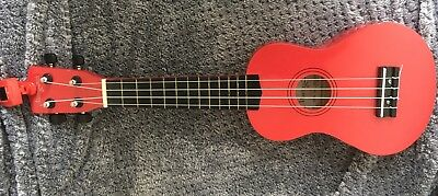 Martin Smith Soprano Ukulele - Red Used