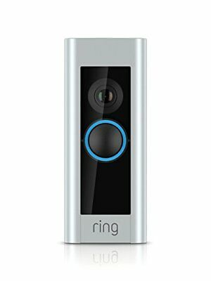 Ring Wide-Angle High-Definition Video Doorbell Pro - Silver (88LP000CH000)