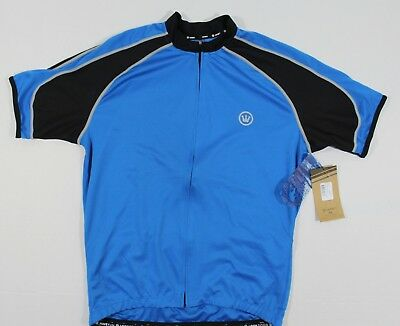 NWT Canari L Men s Streamline Cycling Jersey Short Sleeve Full Zip in  Breakaway c08b8050b