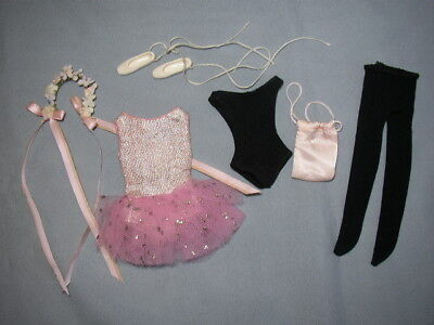 Vintage 1964 SKIPPER Barbie Doll BALLET CLASS Outfit – NEAR COMPLETE