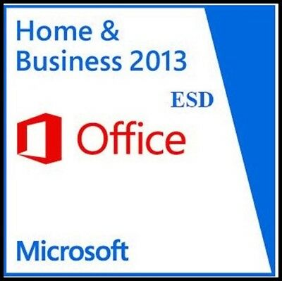 MS Office Home & Business 2013 ESD od partnera.