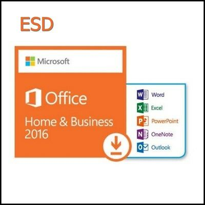 MS Office Home & Business 2016 ESD od partnera.