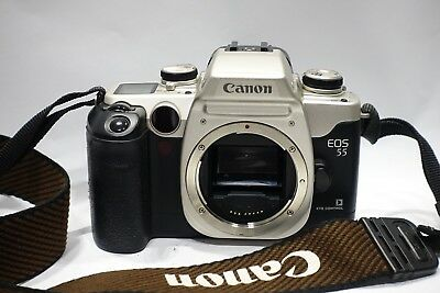 Canon Eos 55 QD Autofocus 35mm SLR Camera body full working order, Eye control