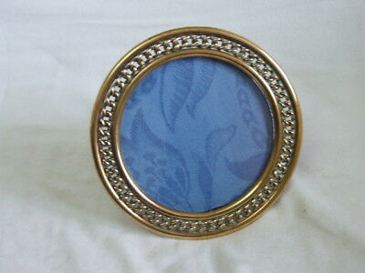 Old Brass Solid photo Frame Pre 1900