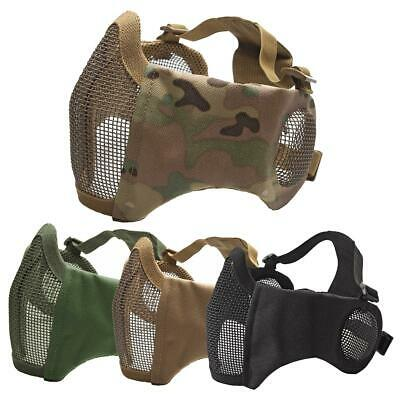 ASG Airsoft Comfort Fit Lower Face Mesh Mask / Ear Protection Softair bb's 192