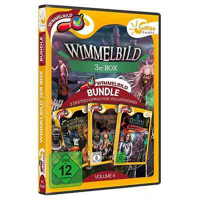 Wimmelbild 3er Box Volume 4 PC Unicorn Castle Tales of Sorrow Odyssee NEU&OVP