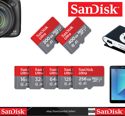Authentic Sandisk-32GB-NEW-Ultra-Micro-SD-SDHC-Card-UHS-I-Class10-A1-98MBps