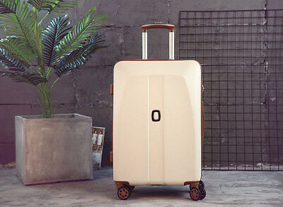 A920 Pink Universal Wheel Coded Lock Travel Suitcase Luggage 22 Inches W