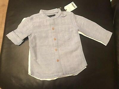 Bnwt Next Baby Boys 2 Pack Of Shirts Size 9-12 Month