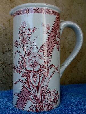 Antique Transferware Turner & Sons Benedick Pitcher Aesthetics Secessesionist